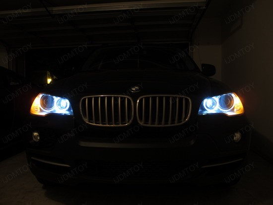 BMW - X5 - H8 - LED - Angel - Eyes - 4
